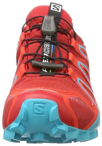 Schuhe Damen Trailrunning Blau Salomon 5 Uk 4 Gtx 5 Speedcross O0kwPn