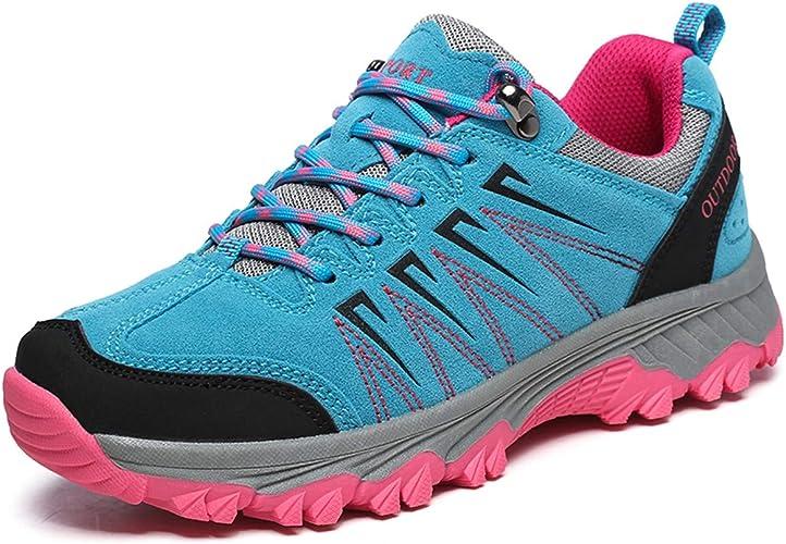 Zapatos de Senderismo Profesional Antideslizante Rápido Zapatillas de Deporte Trekking Low-Top al Aire Libre Zapatillas Lightweight Shockproof Fashion Running Sneaker Walking Hiking Shoes para Hombre: Amazon.es: Zapatos y complementos