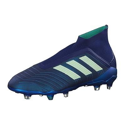 best loved 53887 40a0c adidas Predator 18+ FG, Chaussures de Football Homme, Bleu Uniinkaergrn