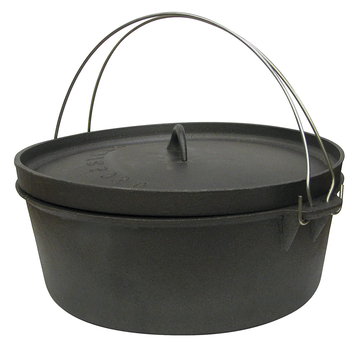 Cheap cajun cookware dutch ovens 6 quart seasoned cast iron dutch oven - Amazon Com Stansport Non Seasoned Cast Iron Dutch Oven Flat Bottom Camping Cooking Utensils Sports Outdoors