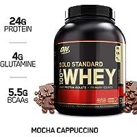 Optimum Nutrition 欧普特蒙 金标乳清蛋白营养粉 摩卡卡布其诺味 5磅(2.27千克)