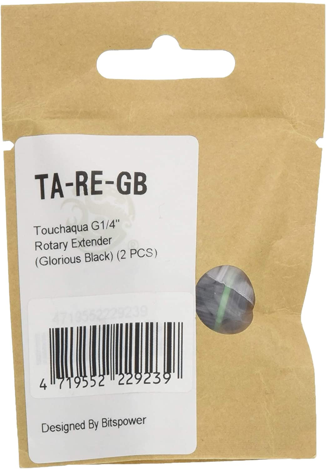 Touchaqua G1// 4 Inch Ig1// 4 Inch Extender Fitting-30mm TA-F63-GS Glorius Silver
