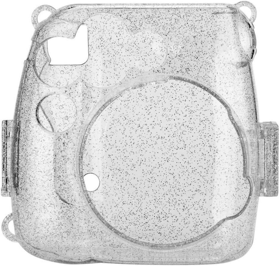 B07L9DY4J5 Fujifilm Instax Mini 9 Instant Camera(Smokey White) + Fujifilm Instax Mini Instant Film (20 Shots) + Glitter Hard Case + Fujifilm Wallet Album + Colored Lens Filters + 20 Sticker Frames Travel Package 71T22fqGOhL