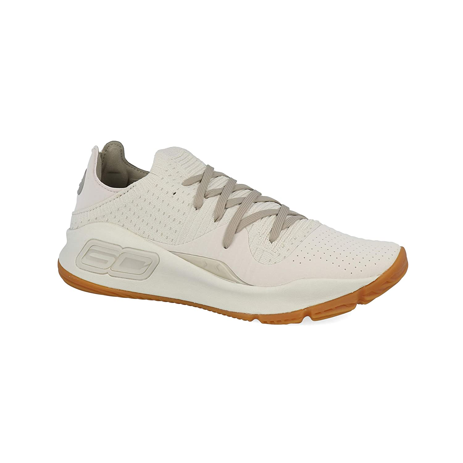 Chaussure de Basketball Tige Basse Curry 4 Low Grove Green Vert pour Homme Under Armour