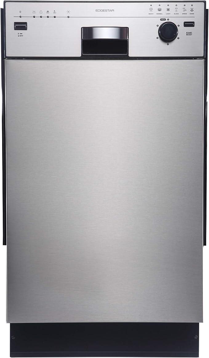EdgeStar 18 Built-In Dishwasher White