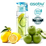Asobu Revolutionary Pure Fruit Flavour 2 Go Water Infuser Bottle