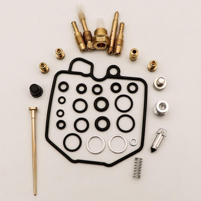 KIPA Carburetor Carb Rebuild Repair Kit For 1981-1982 Honda CB900F CB900C CB1000 4-Pack