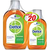 Dettol Antiseptic Disinfectant - Pack of 2 Pieces (500ml + 250ml)