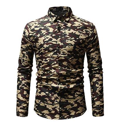 Wawer Camuflaje Impresora - Camisa para Hombres, décontracté ...