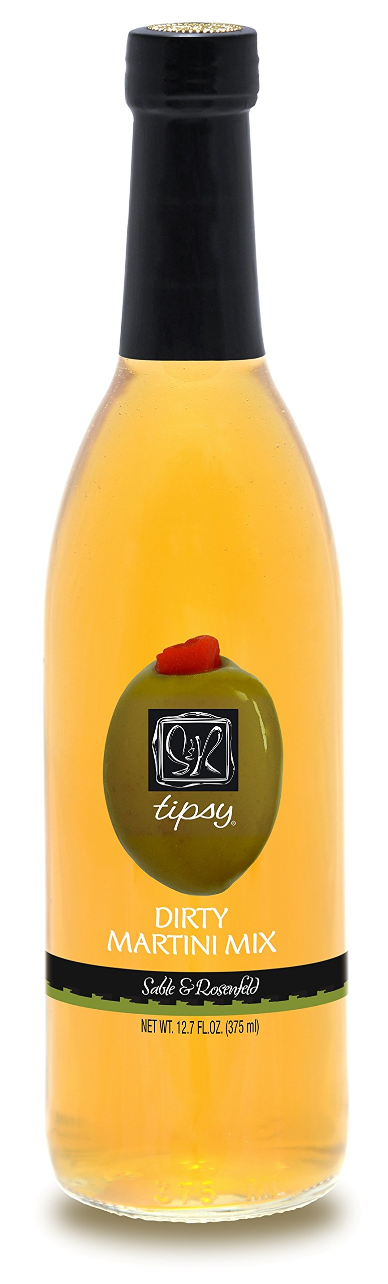 Sable and Rosenfeld Tipsy Dirty Martini Juice, 12.7 Ounce (Pack of 6) by Sable & Rosenfeld