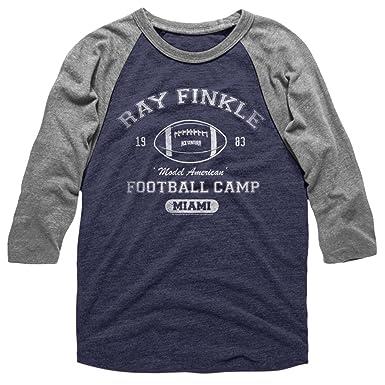 128f6efe8 Amazon.com  A E Designs Mens Ace Ventura T-shirt Ray Finkle Raglan ...