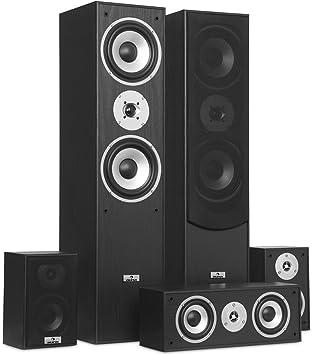 auna Juego de Altavoces de Sonido Envolvente: Amazon.es: Electrónica