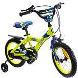 子供用自転車 Cyfie 鷹さん 泥除け付き 補助輪付き 滑り止めハンドル付き 簡単に安装 幅が広いタイヤ 安全 丈夫 全3サイズ