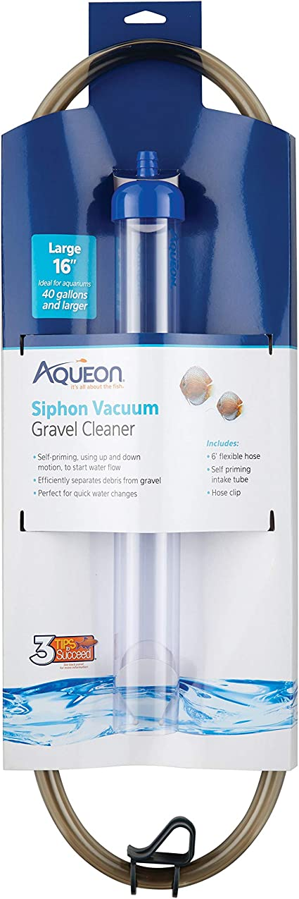 Oawjeen New Large Aquarium Fish Tank Instant Siphon Cleaner Vacuum for Gravel and Sand Aquarium Decoration Fish Tank Decoration Practical Aquarium Fish Tank Supplies