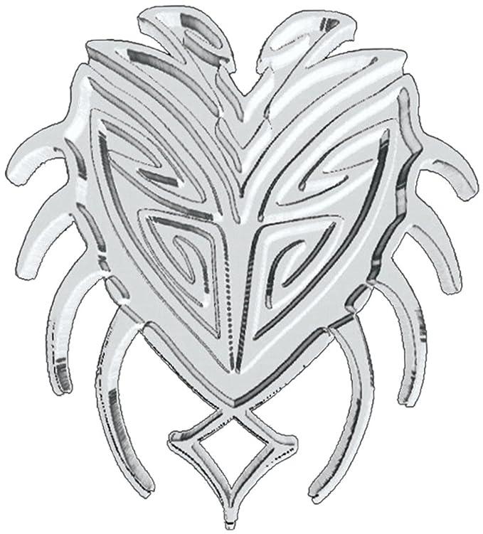 Relieve-cromo-tatuaje cangrejo: Amazon.es: Coche y moto