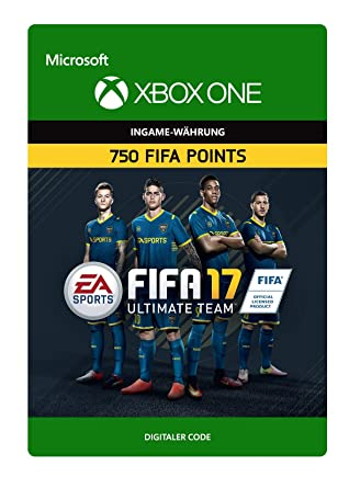 FIFA 17 Ultimate Team - 750 FIFA Points [Xbox One - Download Code ...