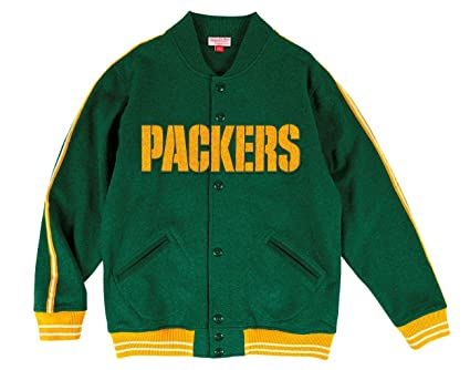 cheap for discount 42689 cc8fc Amazon.com : Mitchell & Ness Green Bay Packers NFL Play Call ...