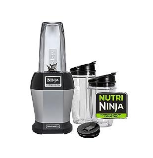 Nutri NINJA BL455 Professional 1000 watts Personal Blender Bonus Set with 3-Sip & Seal Single Serves