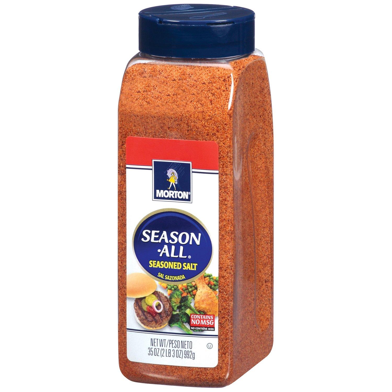 Morton Season-All Seasoned Salt, 35 Ounce (Pack of 6)