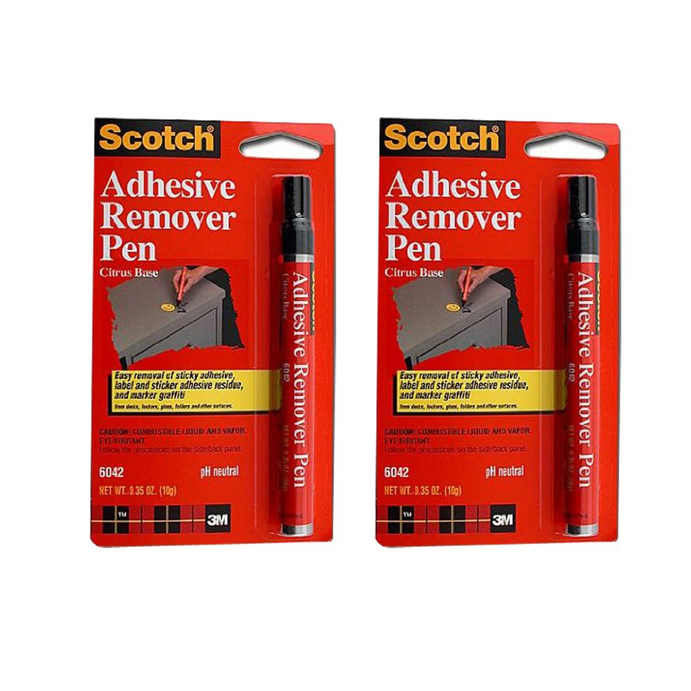 3M Scotch Sticker and Marker Remover Pen - Pack of 2