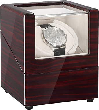 CHIYODA Cajas Giratorias para 1 Relojes con Motor Silencioso y 12 Modos de Rotación: Amazon.es: Relojes