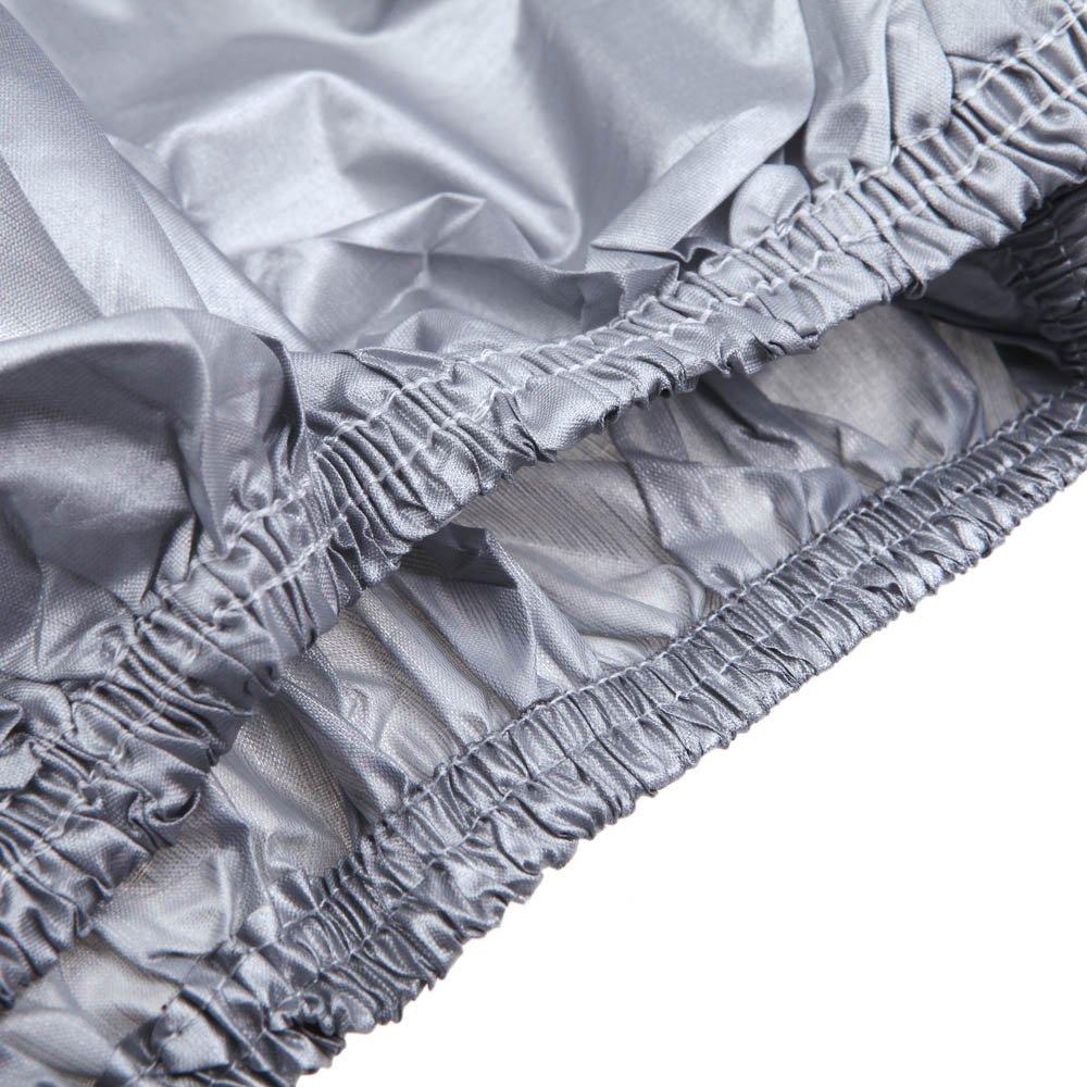 5.3 * 2.0 * 1.5m VISLONE Sed/án Cubierta para Coche,Tama/ño Completo Cubierta para Coche Impermeable Protector Solar Protecci/ón al Calor A Prueba de Polvo Anti-Ultravioleta Resistente a los Ara/ñazos