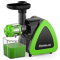 Juicer, Homever Slow Masticating Juicer Machines Extractor