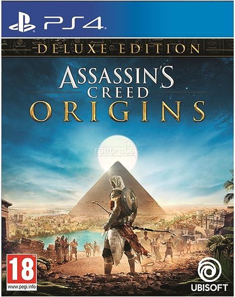 Assassins Creed: Origins - Deluxe Edition/PS4 [Importación ...