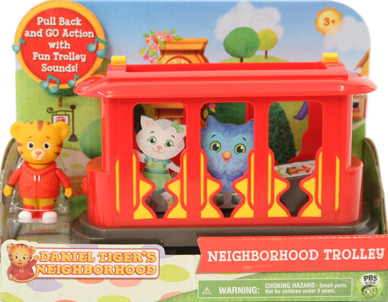 Amazon.com  Daniel Tiger s Neighborhood Trolley with Daniel Tiger Figure   Toys   Games da7f89c19