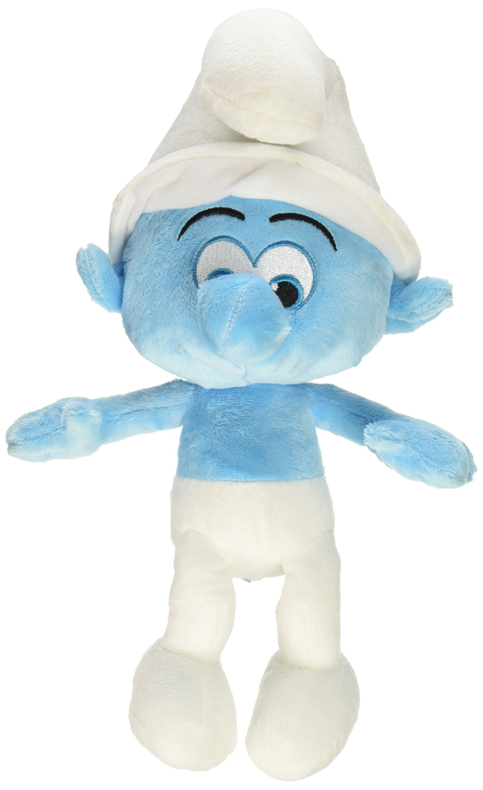 Smurfs The Lost Village Clumsy Talking Feature Plush by The Smurfs