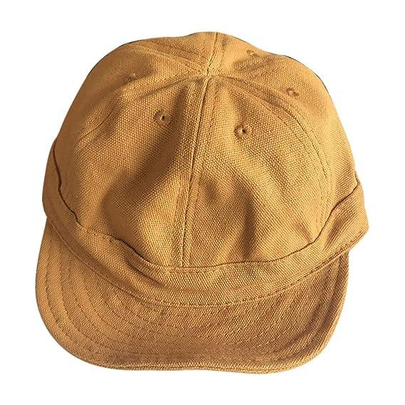 Hombre Mujer Sombreros Gorras Boinas Gorra de Béisbol Ocio Retro ...