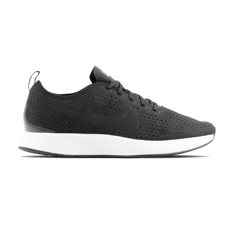 Nike Herren DualTone Racer Premium Textil/Synthetik Sneaker  41 EU|Schwarz (Black/White)