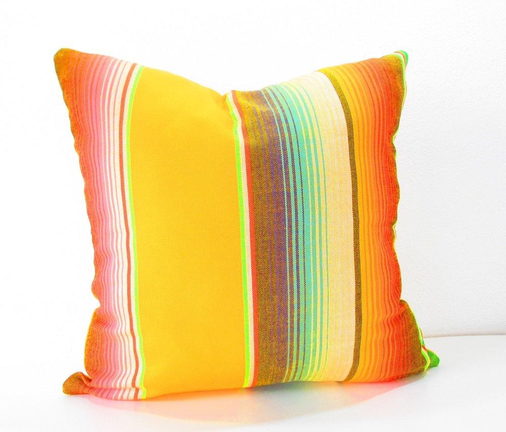 Amazon.com: Mexican Pillow Cover, Mexican Serape Pillow Covers ...