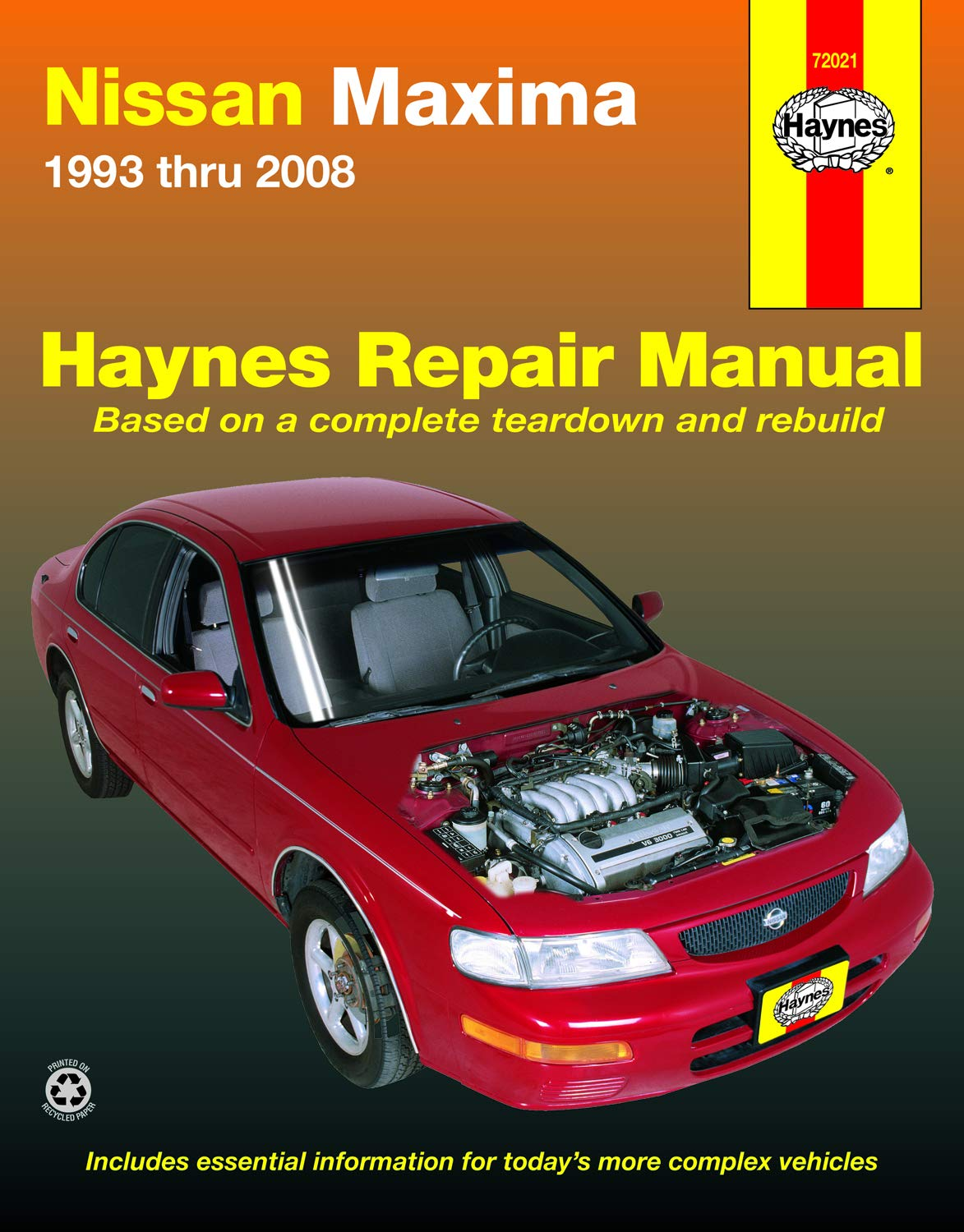 Amazon.com: Nissan Maxima 1993 thru 2008 (Haynes Automotive ...
