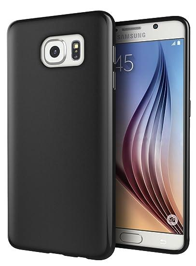 size 40 1bf43 730e7 Galaxy S7 Case, Cimo [Matte] Premium Slim Fit Flexible TPU Case for Samsung  Galaxy S7 (2016) - Black