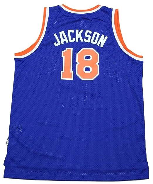 e0e00577c Amazon.com   New York Knicks Phil Jackson Adidas Soul Swingman Jersey (S)    Sports   Outdoors