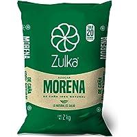 Zulka, zulka azucar morena 2kg, 2 kilogramos