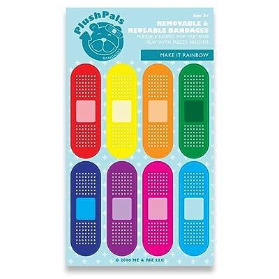 Plush Pals Bandages - Make It Rainbow: Toys & Games