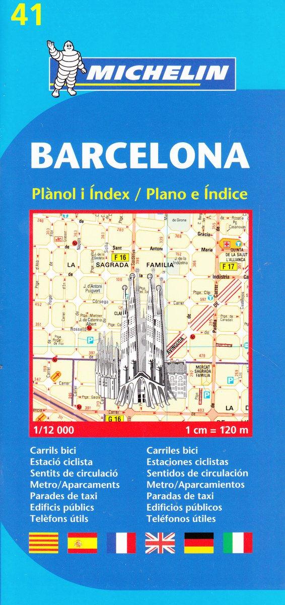Download Michelin Map Barcelona #41 (Maps/City (Michelin)) ebook