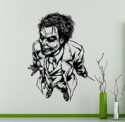 Amazon.com: Joker Wall Vinyl Decal Batman Dark Knight Sticker ...
