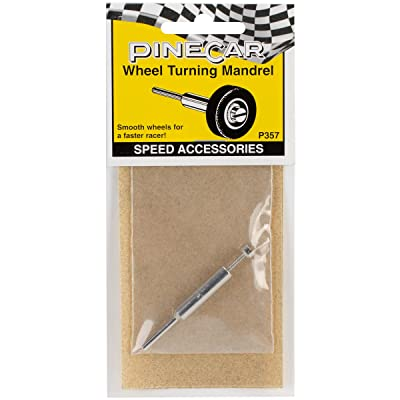 Woodland Scenics P357 Pine Car Derby Speed Accessories, Wheel Turning Mandrel: Arts, Crafts & Sewing