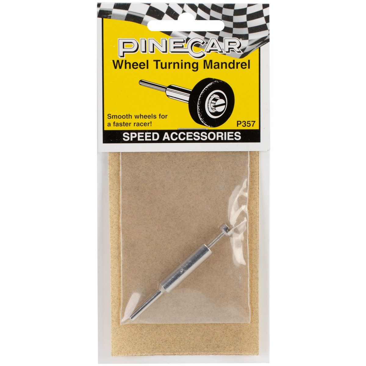 Wheel Turning Mandrel Woodland Scenics P357 Pine Car Derby Speed Accessories
