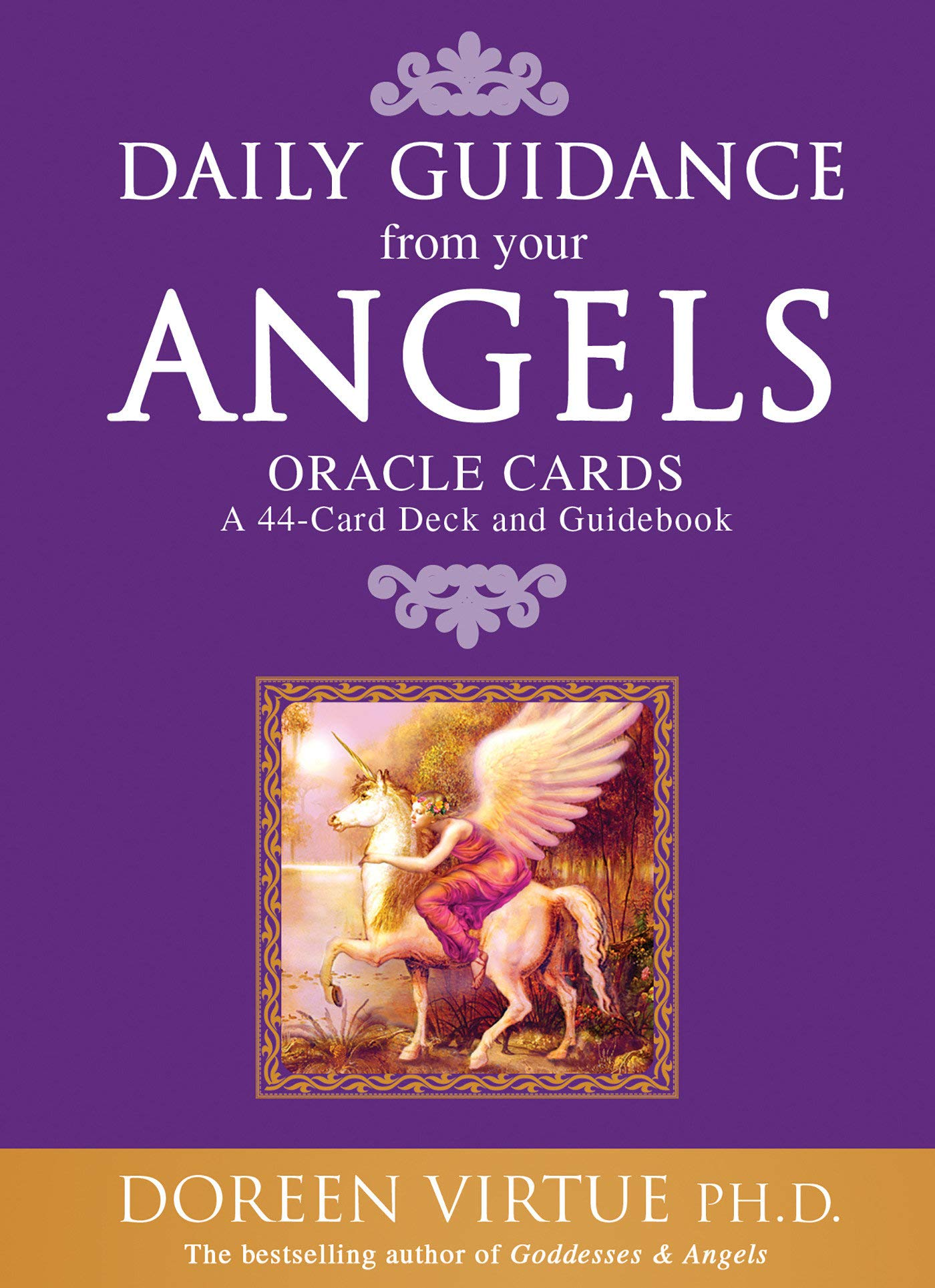 Daily Guidance from Your Angels Oracle Cards: 44 cards plus booklet by Doreen Virtue