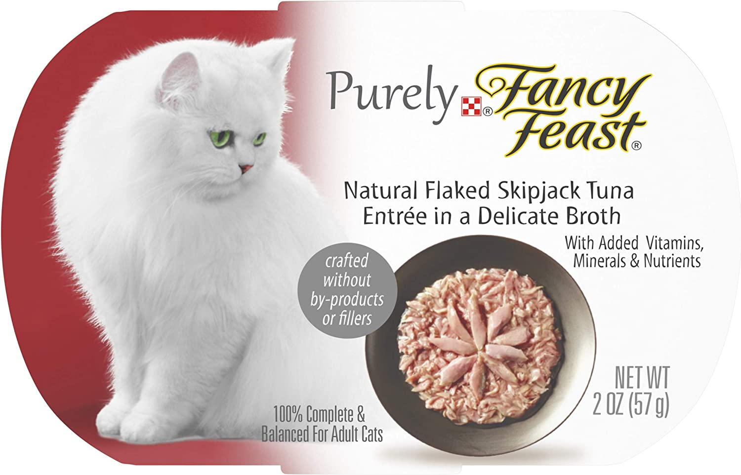 Purely Fancy Feast, Bolsa de 2 onzas, Paquete DE 10: Amazon.es: Productos para mascotas