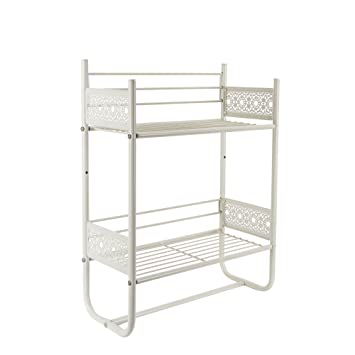 silverwood wall shelf white