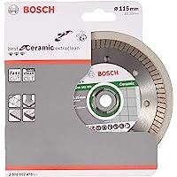 Bosch Professional Diamantdoorslijpschijf (voor keramiek, Ø: 115 mm, boring Ø: 22,23 mm, accessoires voor haakse slijper…