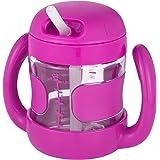 【自营】 美国 OXO 奥秀 带手柄吸管杯 学饮杯 粉色 200ml 适合9个月以上宝宝 (不含BPA,邻苯二甲酸酯和PVC)