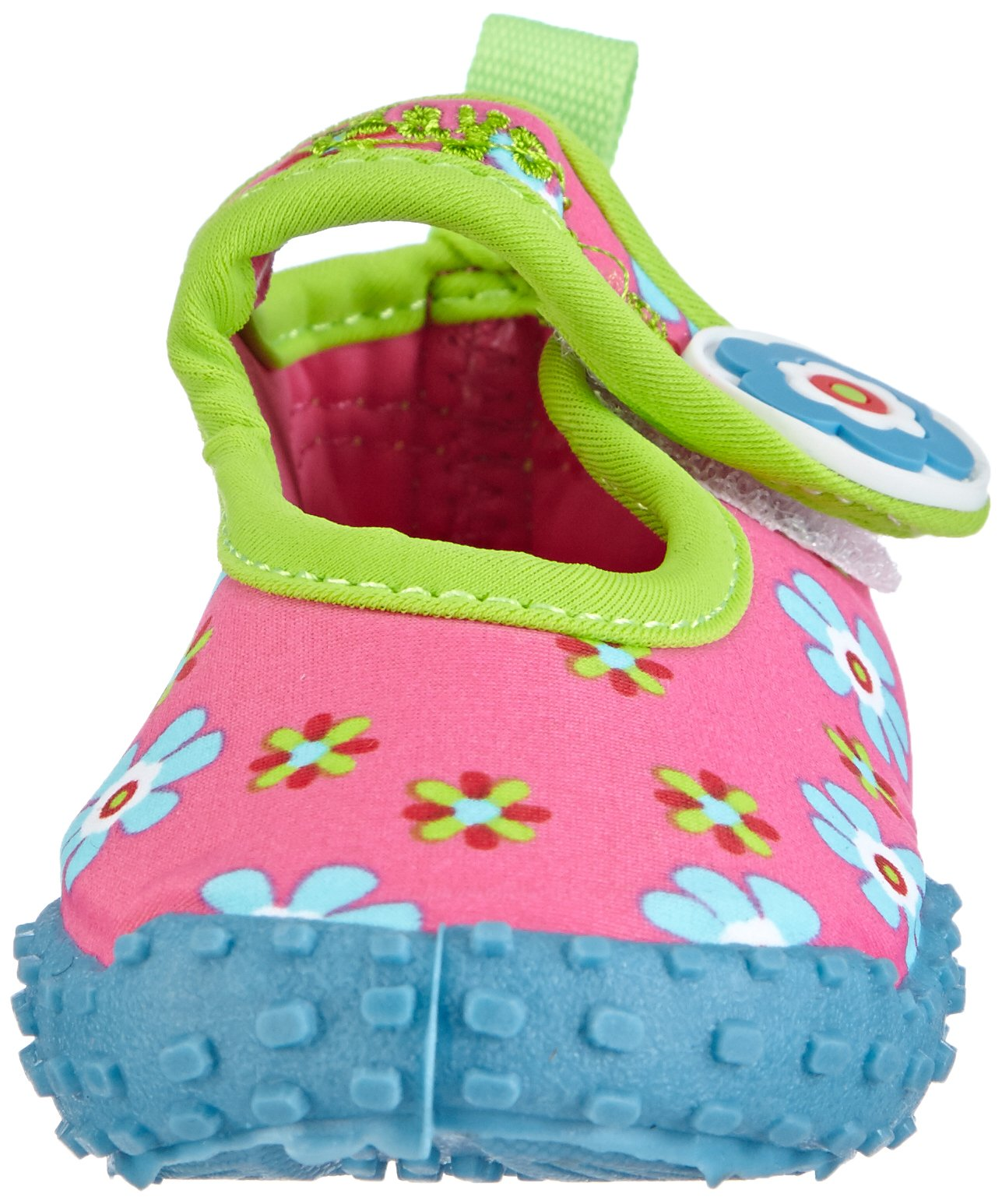 Playshoes Girl's UV Protection Flower Collection Aqua Swimming/Beach Shoes (4.5 M US Toddler) by Playshoes (Image #4)