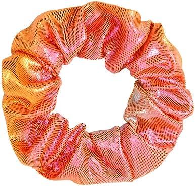 4//8Pcs Bronzing Glitter Hair Rope Women Elastic Ponytail Holder Scrunchies Set