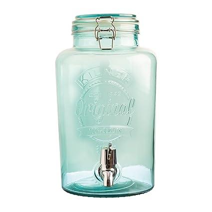 KILNER Vintage dispensador de Bebidas, Azul, 19 x 25 x 30 cm, ...